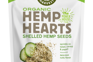 Organic Hemp Hearts Shelled Hemp Seeds