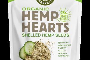 Organic Hemp Hearts Shelled Hemp Seeds