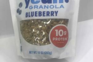 BLUEBERRY GRANOLA ORGANIC HEMP YEAH
