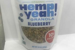 ORGANIC BLUEBERRY GRANOLA