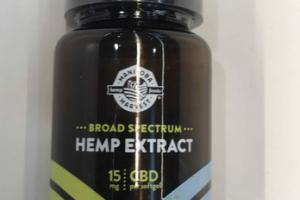 CBD BROAD SPECTRUM HEMP EXTRACT DIETARY SUPPLEMENT
