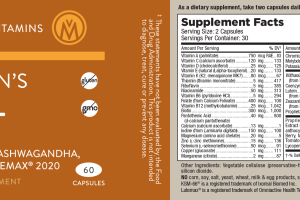 WOMEN'S 50+ DIETARY SUPPLEMENT CAPSULES