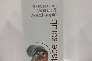Face Scrub, Walnut & Wood Apple