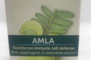 REINFORCES IMMUNE CELL DEFENSE WITH ADAPTOGENIC & RESTORATIVE ACTION HERBAL SUPPLEMENT, AMLA