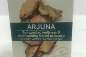 ARJUNA FOR CARDIAC WELLNESS & MAINTAINING BLOOD & MAINTAINING BLOOD PRESSURE HERBAL SUPPLEMENT CAPLETS