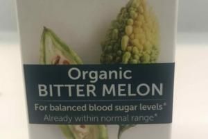ORGANIC BITTER MELON HERBAL SUPPLEMENT CAPLETS