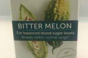 BITTER MELON HERBAL SUPPLEMENT CAPLETS