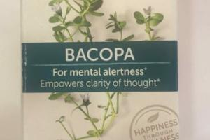 BACOPA FOR MENTAL ALERTNESS HERBAL SUPPLEMENT CAPLETS