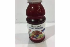 BLUEBERRY RASPBERRY ORGANIC JUICE DRINK FROM CONCENTRATE