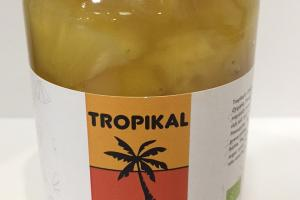 Organic Pineapple Chunks In Pineapple Juice