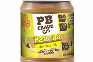 BANANA CHOCOLATE CHIP PEANUT BUTTER SPREAD