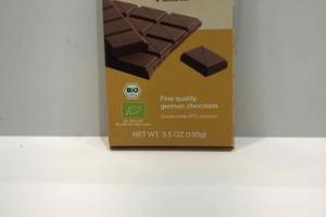 ORGANIC MILK CHOCOLATE FINE QUALITY GERMAN CHOCOLATE