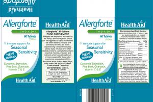 Allergforte Immune Support For Seasonal Sensitivity