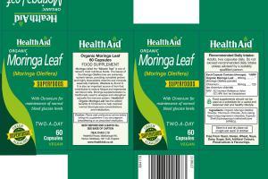 Organic Moringa Leaf Superfoods Capsules