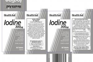 Iodine 300 Mg Food Supplement