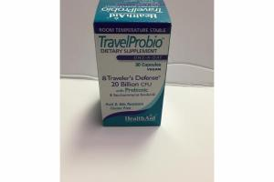 TRAVELER'S DEFENSE 20 BILLION CFU WITH PREBIOTIC DIETARY SUPPLEMENT