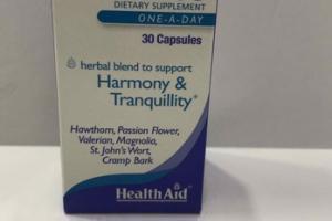 HARMONY & TRANQUILLITY DIETARY CAPSULES
