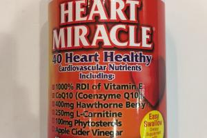 Nutritional Support For Healthy Heart, Blood Pressure & Cholesterol Dietary Supplement