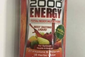 ENERGY TOTAL BODY NUTRITION FOR OPTIMUM HEALTH & ENERGY DIETARY SUPPLEMENTS