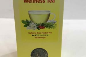 CAFFEINE-FREE HERBAL WELLNESS TEA