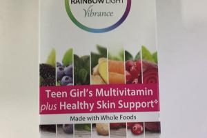 Teen Girl's Multivitamin Plus Healthy Skin Support Dietary Supplement
