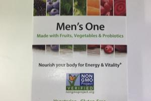 Men's One Multivitamin Supplement