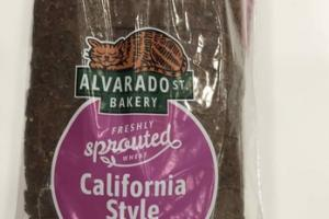 CALIFORNIA STYLE FRESHLY SPROUTED WHEAT BREAD