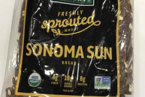 SONOMA SUN FRESHLY SPROUTED WHEAT BREAD