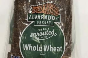 FRESHLY SPROUTED WHOLE WHEAT BREAD