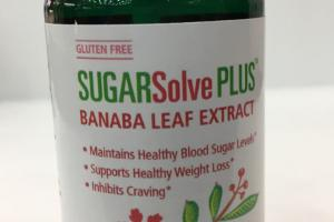 Banaba Leaf Extract Dietary Supplement