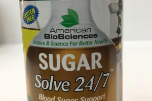 Sugar Solve 24/7 Blood Sugar Support Dietary Supplement