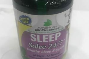 SOLVE 24/7 HEALTHY SLEEP SUPPORT DIETARY SUPPLEMENT TABLETS