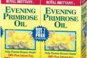 Evening Primrose Oil Dietary Supplement