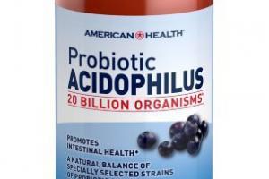Probiotic Acidophilus Dietary Supplement