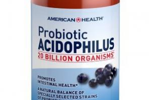 Probiotic Acidophilus Dietary Supplement