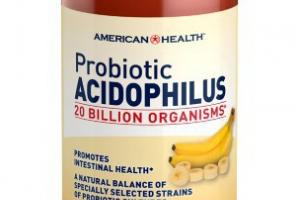 Probiotic Acidophilus Digestive Health Dietary Supplement