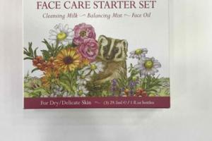 FACE CARE STARTER SET, DAMASCUS ROSE