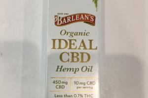 Organic Ideal Cbd Hemp Oil Dietary Supplement