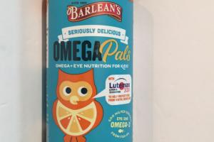 Omega Pals Hooty Fruity Tangerine Dietary Supplement
