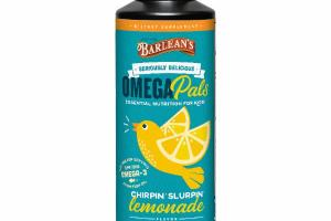OMEGA PALS ESSENTIAL NUTRITION FOR KIDS DIETARY SUPPLEMENT, LEMONADE