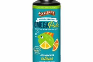 OMEGA PALS ESSENTIAL NUTRITION FOR KIDS DIETARY SUPPLEMENT, CITRUS