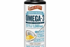 OMEGA-3 EPA / DHA 1,080 MG FROM FISH OIL DIETARY SUPPLEMENT, PINA COLADA
