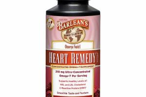HEART REMEDY CONCENTRATED OMEGA-7 SUPPLEMENT, MIXED RED BERRY