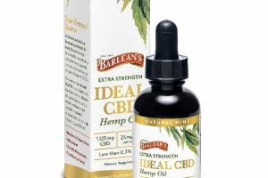 EXTRA STRENGTH IDEAL 1,125 MG CBD HEMP OIL DIETARY SUPPLEMENT, NATURAL MINT