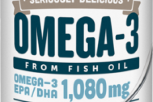 OMEGA-3 EPA/DHA 1,080 MG DIETARY SUPPLEMENT PINA COLADA