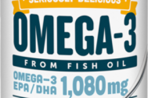 LEMON CREME OMEGA-3 FROM FISH OIL DIETARY SUPPLEMENT