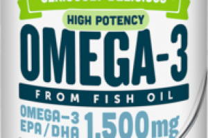 KEY LIME PIE HIGH POTENCY OMEGA-3 DIETARY SUPPLEMENT