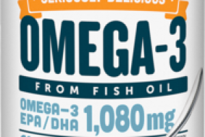 NATURAL FRUIT FLAVOR OMEGA-3 EPA/DHA 1,080 MG DIETARY SUPPLEMENT