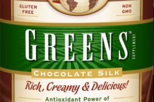 RICH, CREAMY & DELICIOUS! CHOCOLATE SILK POWDER FORMULA SUPPLEMENT