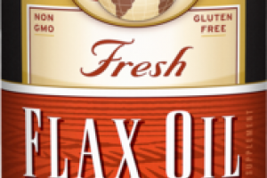 FRESH ORGANIC FLAX OIL SUPPLEMENT